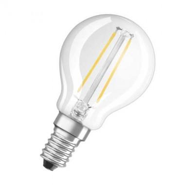 OSRAM Ampoule LED filament E14 230V 2,8W(=25W) 230lm 2700°K sphérique