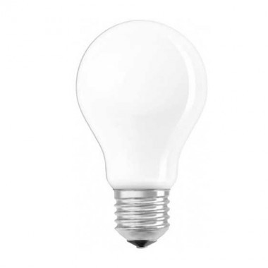 OSRAM Ampoule LED dimmable blanc chaud E27 230V 6,5W(=60W) 806lm 2700°K standard