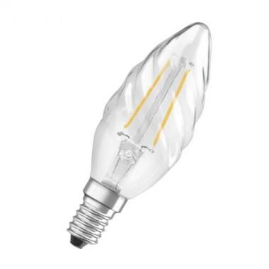 OSRAM Ampoule LED filament E14 230V 2,8W(=23W) 250lm 2700°K flamme torsadée