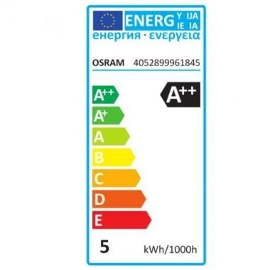 OSRAM Ampoule LED filament dimmable E14 230V 4,5W(=40W) 470lm 2700°K sphérique