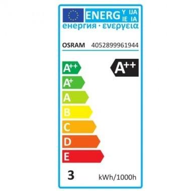 OSRAM Ampoule LED filament B22d 230V 2,8W(=25W) 250lm 2700°K sphérique
