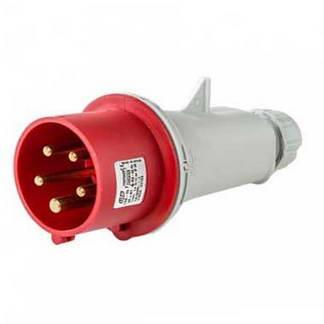 Fiche industrielle mâle CEE 16A 3P+N+T 400V