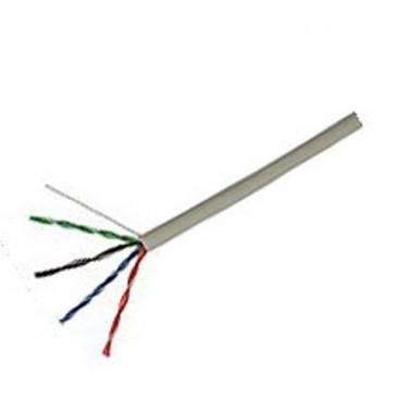 Câble RJ45 informatique Catégorie 5e F/UTP 4P 100Mhz - Couronne de 100m