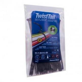 TWIST TAIL collier de serrage 4.7x181mm - 50 pièces