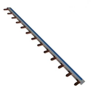 Peigne d'alimentation électrique réversible Phase Neutre 13 modules