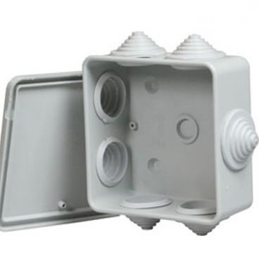 Boîte de dérivation étanche IP55 80x80x45