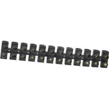 Barrette de connexion avec 12 plots de 25mm²