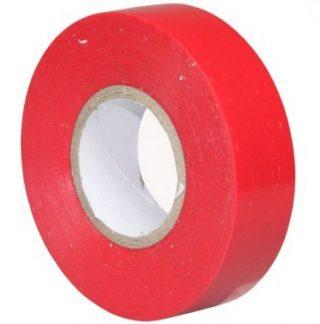 Ruban adhésif isolant rouge 19mm x 20m