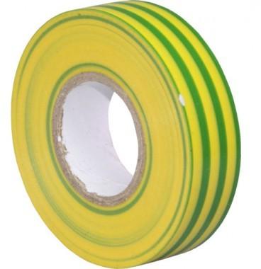 Ruban adhésif isolant vert /jaune 19mm x 20m
