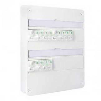 SCHNEIDER Resi9 XE Tableau électrique prééquipé auto 2 rangées 3ID 40A 9 disjoncteurs