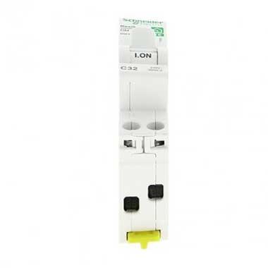 SCHNEIDER Resi9 XE Disjoncteur 32A auto Ph+N courbe C 3kA 230V - R9EFC632