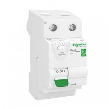 SCHNEIDER Resi9 XE Interrupteur différentiel 63A 30mA type AC auto 230V - R9ERC263