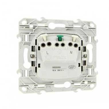 SCHNEIDER Odace Prise de courant 2P+T blanc - S520059
