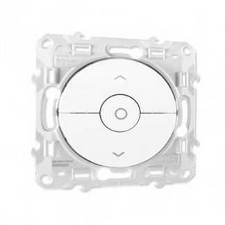 SCHNEIDER Odace Interrupteur volets roulants blanc - S520208