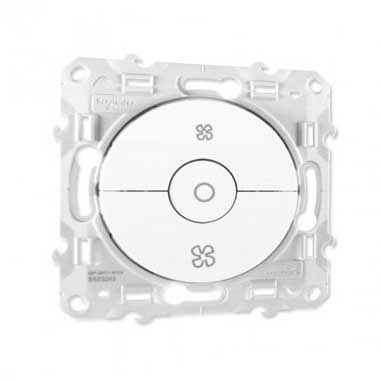SCHNEIDER Odace Interrupteur VMC blanc - S520243