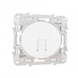 SCHNEIDER Odace Prise RJ45 grade 1 catégorie 5e blanc - S520471