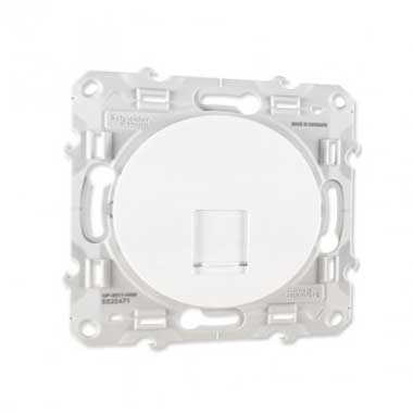 SCHNEIDER Odace Prise RJ45 grade 1 catégorie 6 blanc - S520475