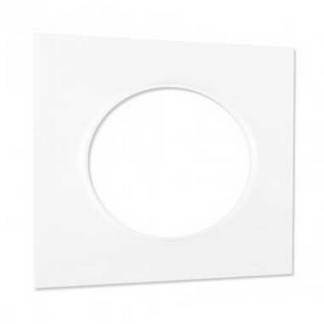 SCHNEIDER Odace Styl Plaque simple blanc - S520702