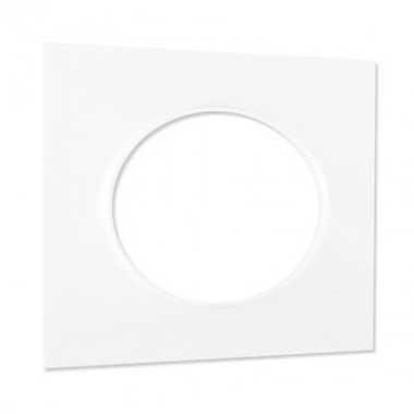 SCHNEIDER Odace Styl Plaque simple blanc - S520702
