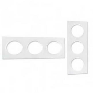 SCHNEIDER Odace Styl Plaque triple blanc - S520706
