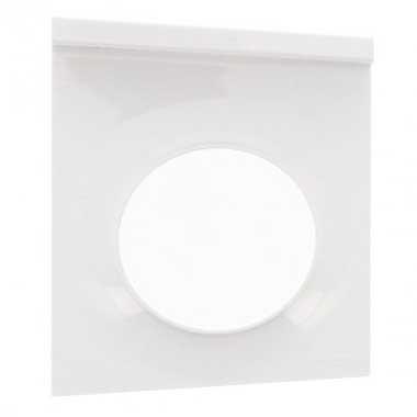 SCHNEIDER Odace Styl Plaque simple support téléphone mobile blanc - S520712