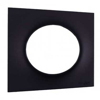 SCHNEIDER Odace Styl Plaque simple anthracite - S540702