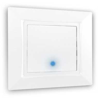 SIEMENS Delta One Interrupteur va et vient à voyant lumineux complet blanc