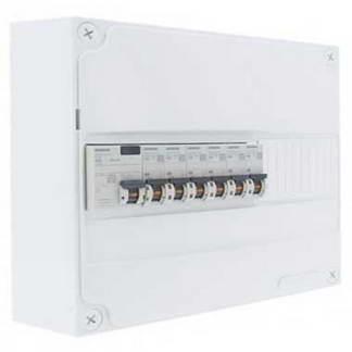 SIEMENS Tableau électrique prééquipé 1 rangée 1ID 40A 6 disjoncteurs