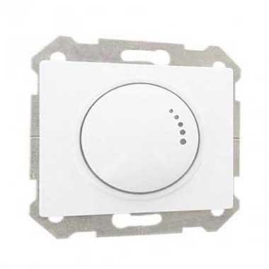 SIEMENS Delta Iris Interrupteur variateur rotatif 500W blanc