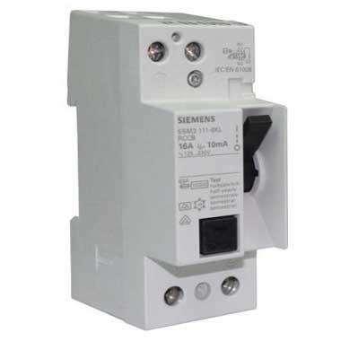 SIEMENS Interrupteur différentiel 16A 10mA type A 230V