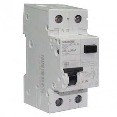 SIEMENS Disjoncteur différentiel 16A 30mA type AC 230V