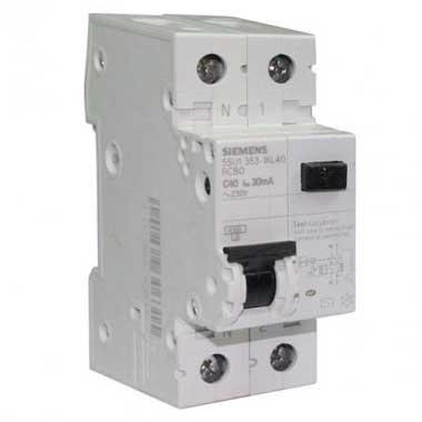 SIEMENS Disjoncteur différentiel 40A 30mA type AC 230V