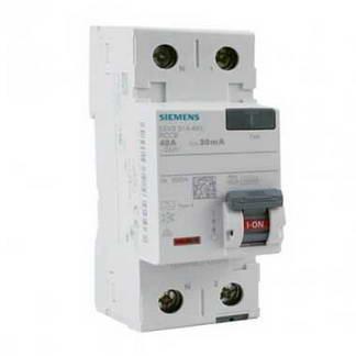 SIEMENS Interrupteur différentiel 40A 30mA type A 230V