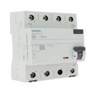 SIEMENS Interrupteur différentiel tétrapolaire 40A 30mA type A 4 modules 400V