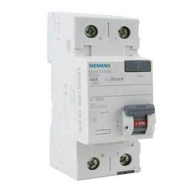 SIEMENS Interrupteur différentiel 40A 30mA type AC 230V