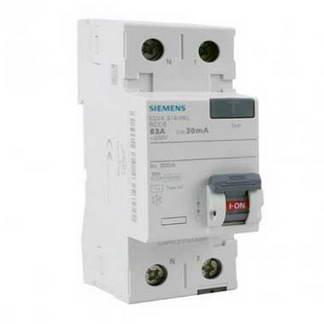 SIEMENS Interrupteur différentiel 63A 30mA type AC 230V