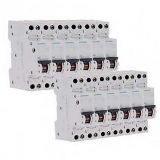 SIEMENS Lot de 10 disjoncteurs 16A Ph+N courbe C 4.5kA 230V