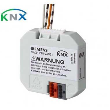 SIEMENS KNX Interface bouton poussoir 2 entrées Bin / sorties