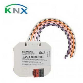 SIEMENS KNX Interface bouton poussoir 4 entrées Bin / sorties