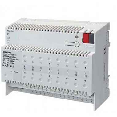 SIEMENS KNX Module 16 entrées binaires pour contacts AC/DC 12-230V