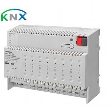 SIEMENS KNX Module 8 entrées binaires pour contacts secs et 8 entrées binaires pour contacts AC/DC