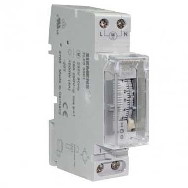 SIEMENS Interrupteur horaire 16A monophasé 1 module