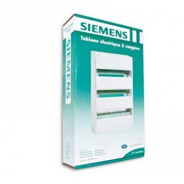 SIEMENS Tableau électrique nu 3 rangées 13 modules