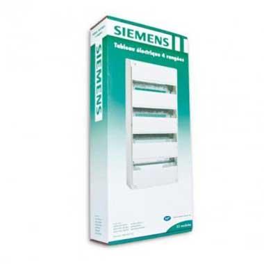SIEMENS Tableau électrique nu 4 rangées 13 modules