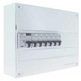 SIEMENS Tableau électrique prééquipé 1 rangée 1ID 63A 6 disjoncteurs