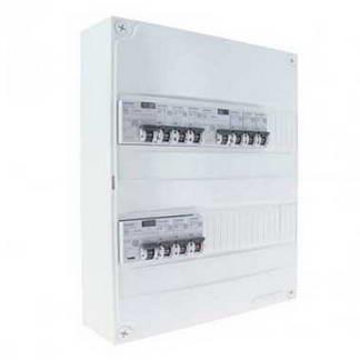 SIEMENS Tableau électrique prééquipé 2 rangées 3ID 40A 9 disjoncteurs