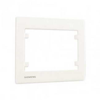 SIEMENS Delta Iris Plaque simple blanc