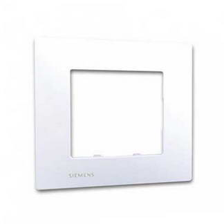 SIEMENS Delta Viva Plaque simple blanc