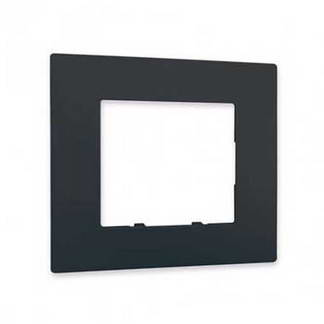SIEMENS Delta Viva Plaque simple anthracite
