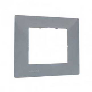 SIEMENS Delta Viva Plaque simple gris